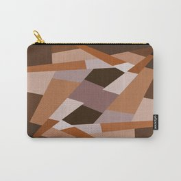 Browns Shape Pattern Carry-All Pouch