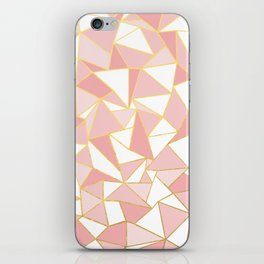 Ab Out Blush Gold 2 iPhone Skin