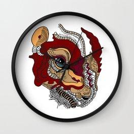 Rhino Dinosaur Wall Clock