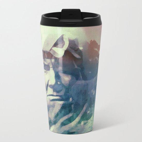 America Metal Travel Mug