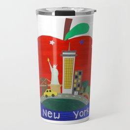 New York Snow Globe Travel Mug
