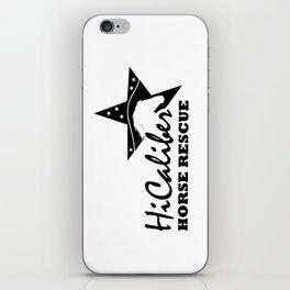 High Caliber Horse Rescue iPhone Skin
