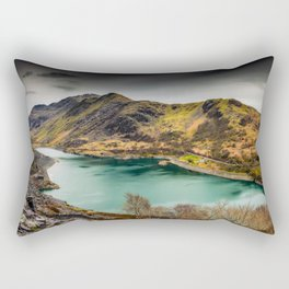 Llyn Peris Snowdonia Rectangular Pillow