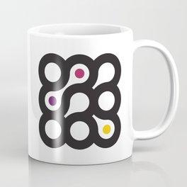 Circles 3x3 #5 Coffee Mug