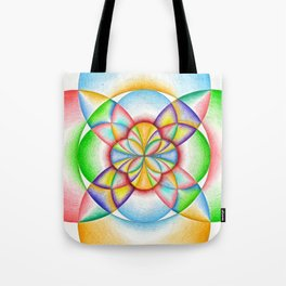 The Four Directions - The Rainbow Tribe Collection Tote Bag