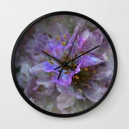 Heart of Blue Wall Clock