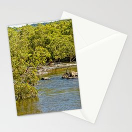 Beautiful river in the tropics Stationery Cards