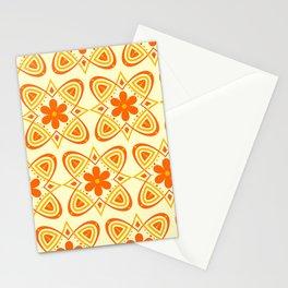 Vintage Boho Modern Floral Stationery Cards