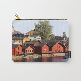 Old town Porvoo Finland Carry-All Pouch