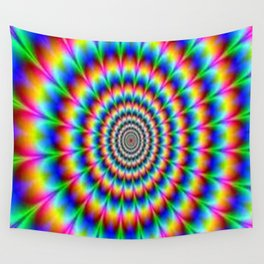 Optical dream Wall Tapestry