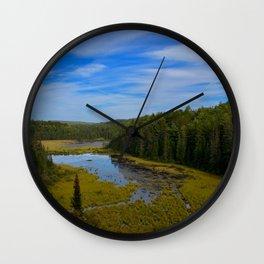 Beaver Dam Lookout Wall Clock