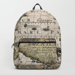 Map Of America 1614 Backpack