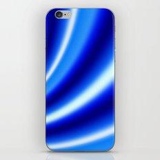 Blue N White iPhone & iPod Skin