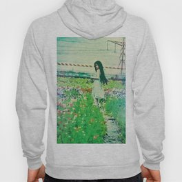 """A Flower Does Not Think Of Competing To The Flower Next To It. It Just Blooms"" Hoody"