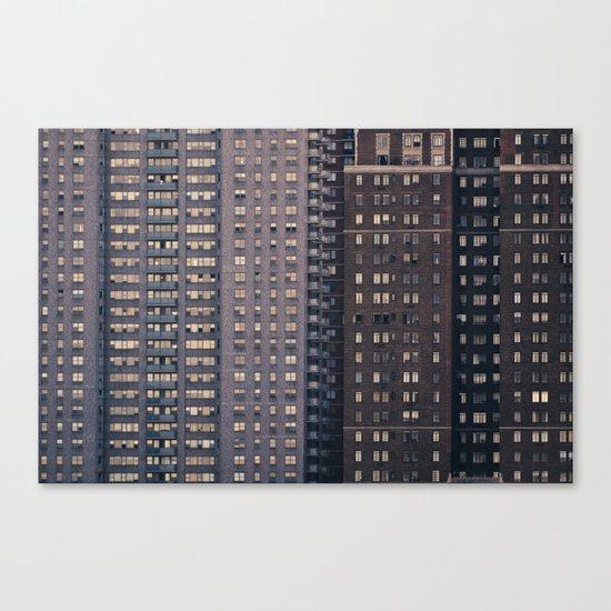 Density - New York City Architecture Canvas Print