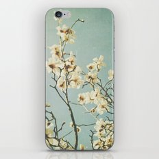 Magnolia blossoms. Mint iPhone & iPod Skin