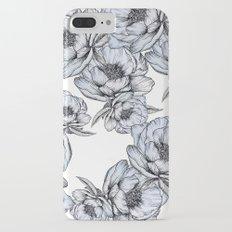 floating flowers iPhone 7 Plus Slim Case