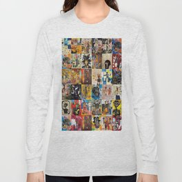Basquiat Montage Long Sleeve T-shirt