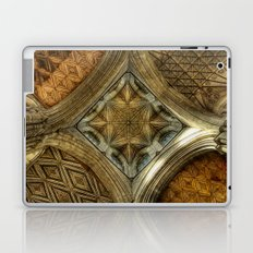 Peterborough Cathedral Roof Laptop & iPad Skin