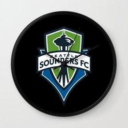 Seattle Sounders Wall Clock