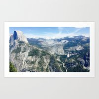 glacier point Art Print