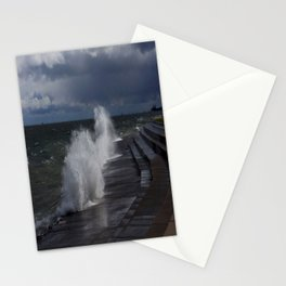 A Gale to Blow Out the Year (Chicago Waves Collection) Stationery Cards