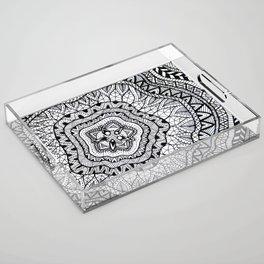Doodle1 Acrylic Tray
