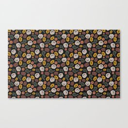 Tossed Fall Florals Canvas Print