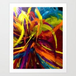 Colors of Carnaval Art Print