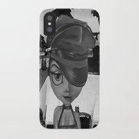 sassy iPhone & iPod Cases featuring Sassy by Plume 111