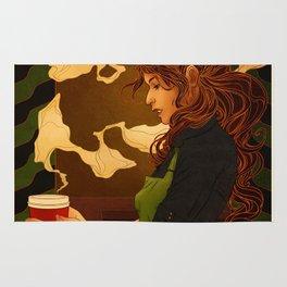 Art Nouveau Barista Rug