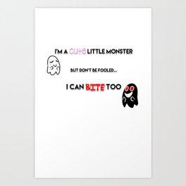 I'm a Monster Art Print