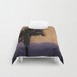 Sunset Palm Comforters