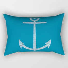 Love is the anchor Rectangular Pillow