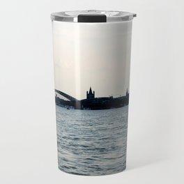 Cologne cityscape Travel Mug