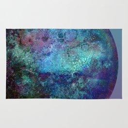 Kepler-22b blue gradient Rug