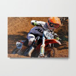 Racing Home Metal Print