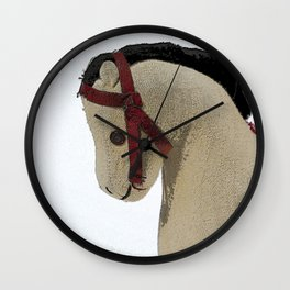 The Old Toy Horse Wall Clock