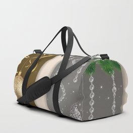 Christmas banners Duffle Bag