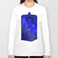 doctor who Long Sleeve T-shirts featuring Doctor Who by Fimbis
