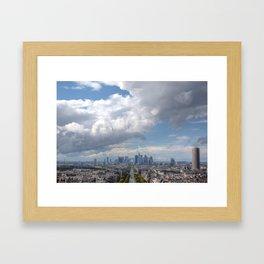 City Sky Framed Art Print