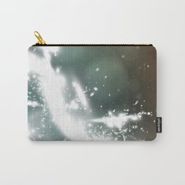 abstract background with highlights Carry-All Pouch