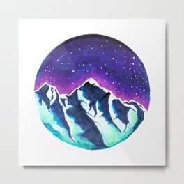 Jungfrau Metal Print