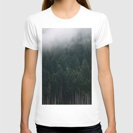 Mystic Pines - A Forest in the Fog T-shirt