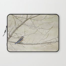 Eastern Bluebird Laptop Sleeve
