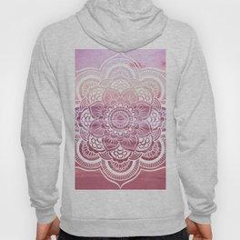 Water Mandala Pink Hoody