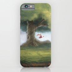 Swinging under a big tree Slim Case iPhone 6s