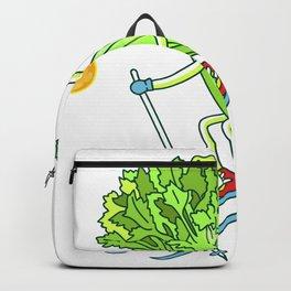 Skiing Celery Backpack