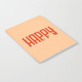 Happy Flowers Notebook