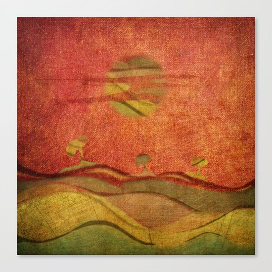 Cinnamon Trees Canvas Print
